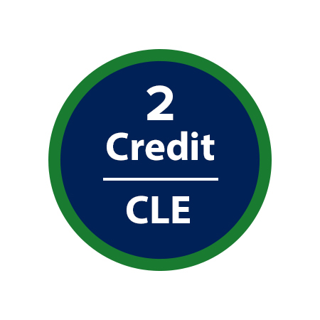 2 Credit CLE and Golf
